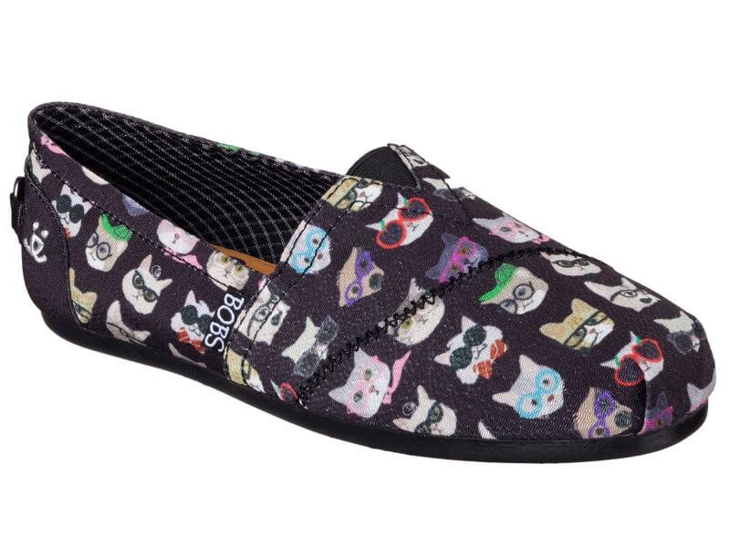 Skechers Puppy Print Slip On Shoe