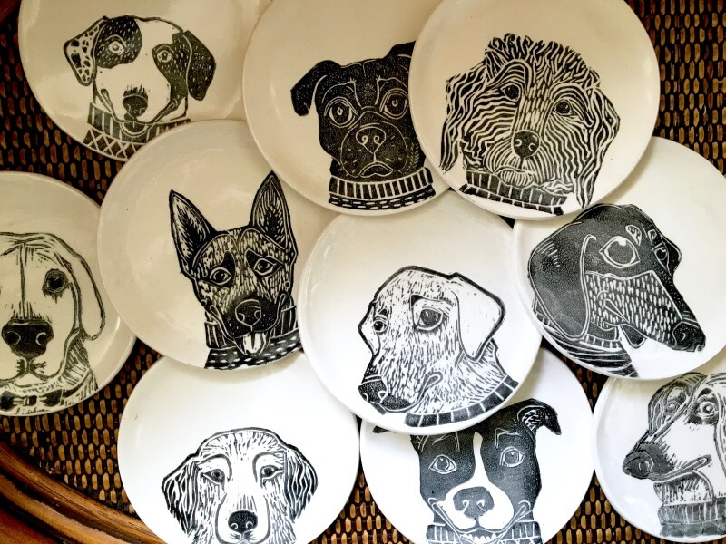 Put Your Dog\u0027s Cute Face on Custom Dinner Plates & Put Your Dog\u0027s Cute Face on Custom Dinner Plates - Lucky Puppy Magazine